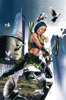 Grimm Fairy Tales: Robyn Hood - I Love NY #10 (Otero Cover)