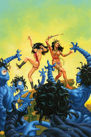 Vampirella / Dejah Thoris #2 (10 Copy Jusko Virgin Cover)