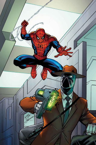 Spider-Man: The Master Plan #1 (Lim Cover)