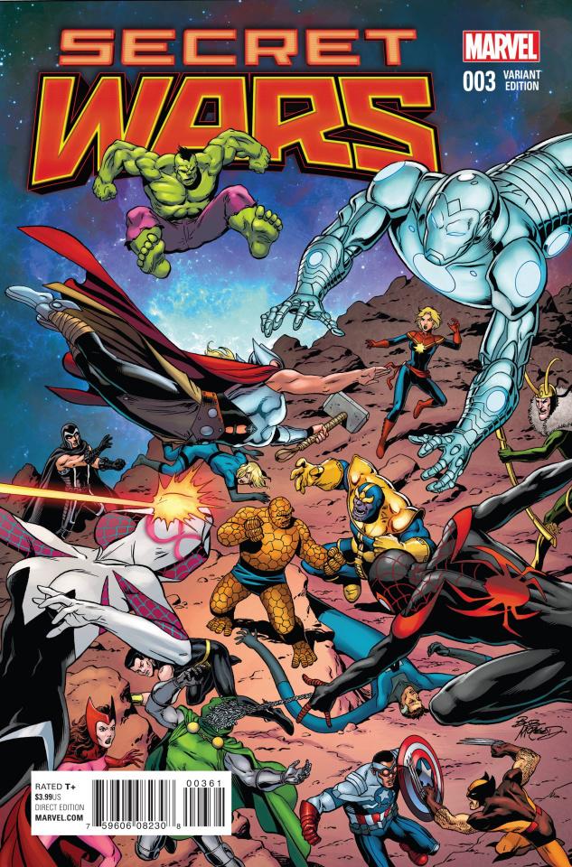 Secret Wars #3 (McLeod Cover)