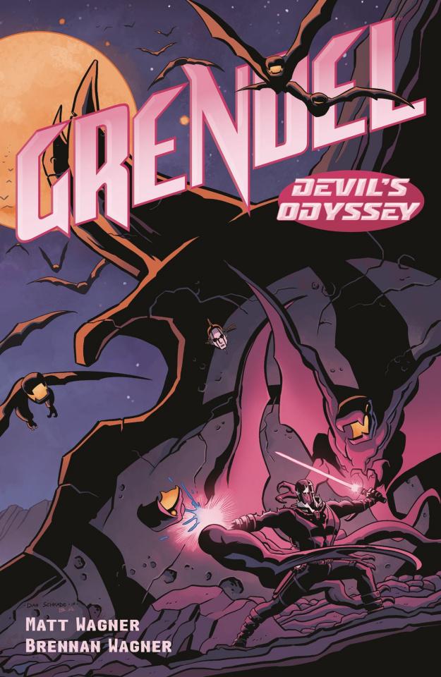 Grendel: Devil's Odyssey #3 (Schkade Cover)