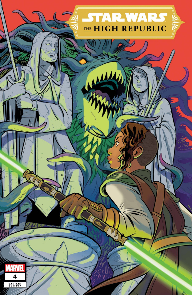 Star Wars: The High Republic #4 (Bustos Cover)