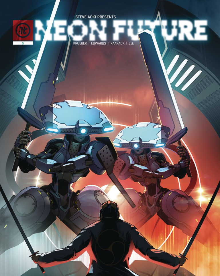 Neon Future #5 (Raapack Cover)