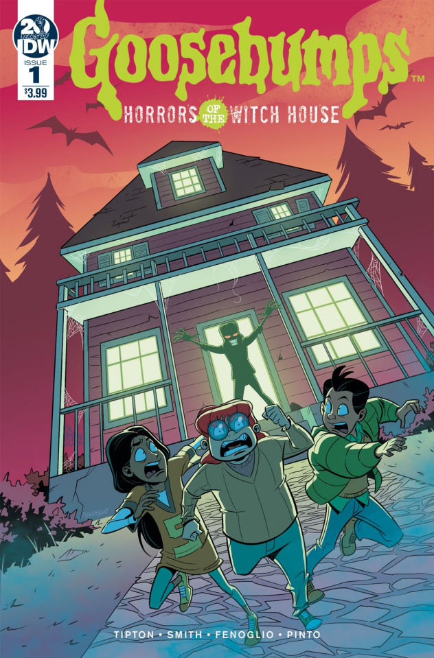Goosebumps: Horrors of the Witch House #1 (Fenoglio Cover)