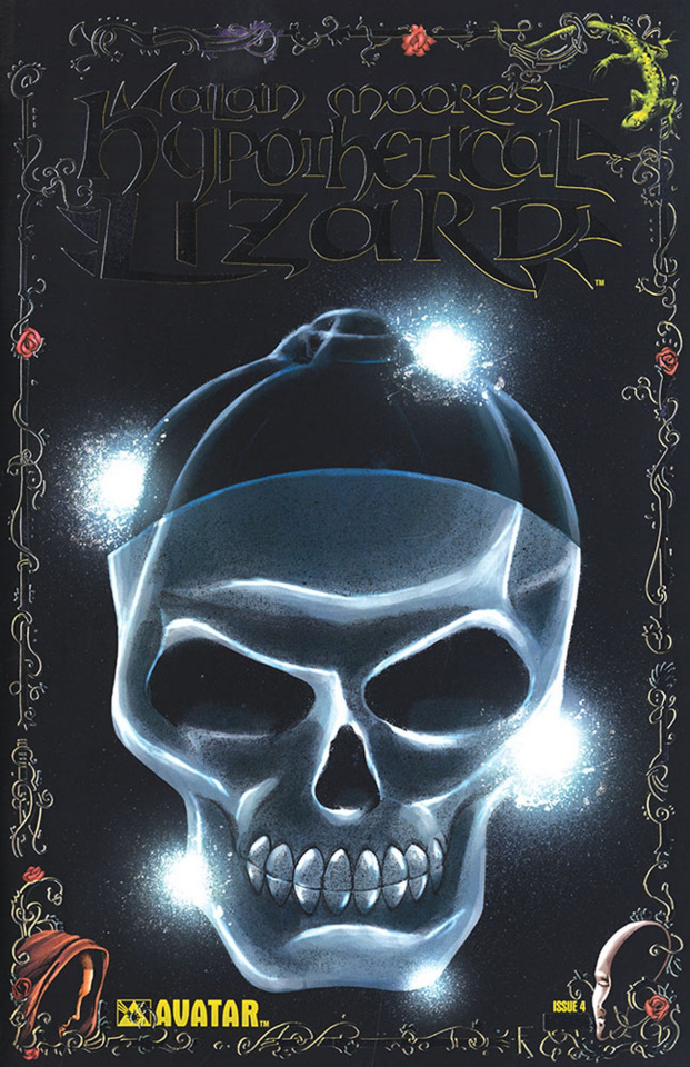 Hypothetical Lizard #4 (Platinum Foil Cover)