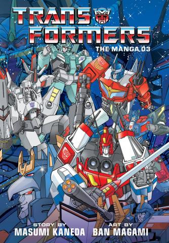 The Transformers: Classic TV Magazine Manga Vol. 3