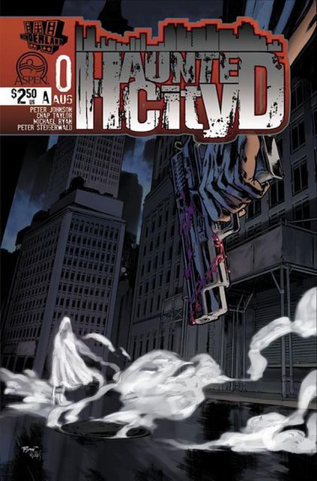 Haunted City #0 (Ryan Cover)
