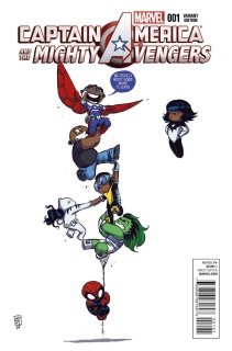Captain America and the Mighty Avengers #1 (Young Cover)