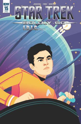 Star Trek: Boldly Go #15 (25 Copy Cover)