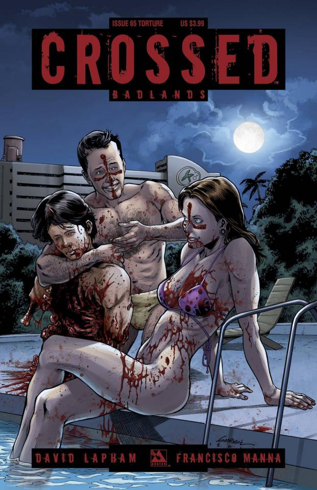Crossed: Badlands #65 (Torture Cover)