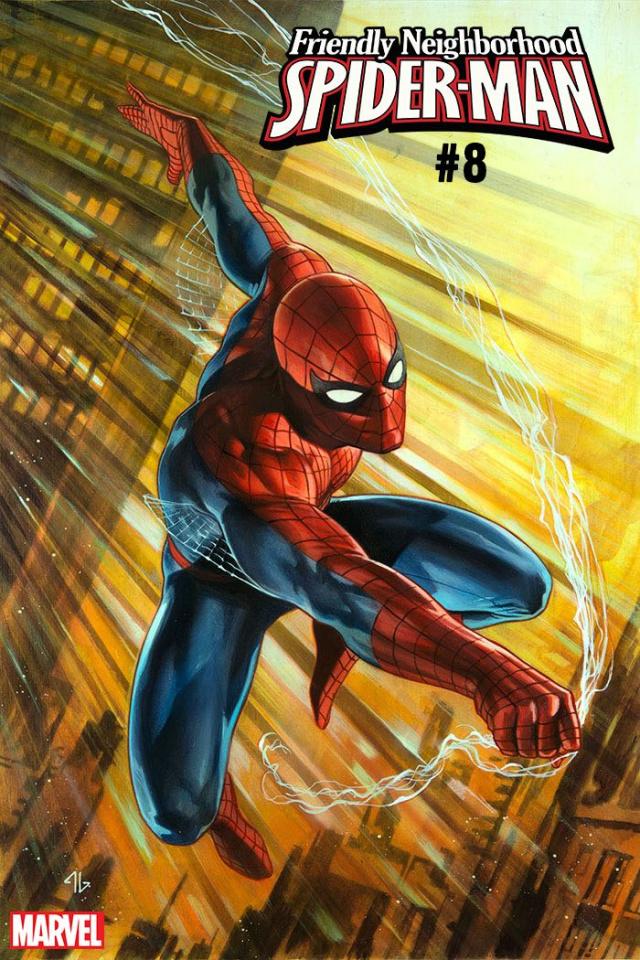 Friendly Neighborhood Spider-Man #8 (Granov Spider-Man Cover)