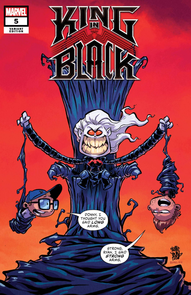 King in Black #5 (Young Cover)