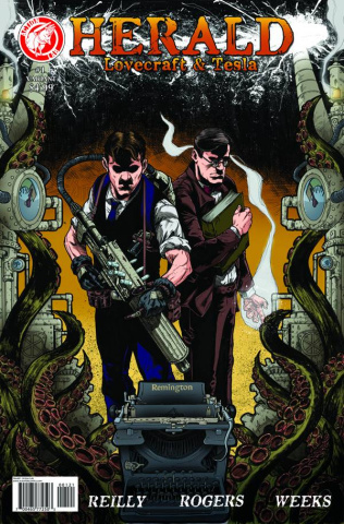 Herald: Lovecraft & Tesla #1 (Dyer Cover)