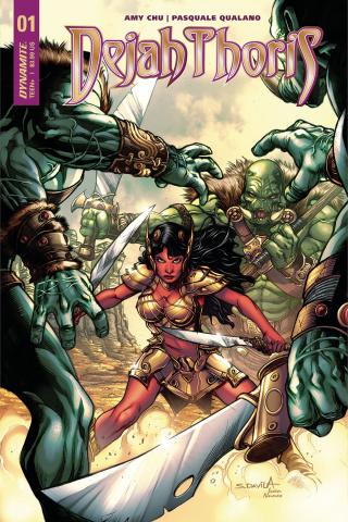 Dejah Thoris #1 (Davila Cover)