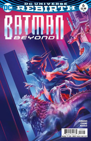Batman Beyond #6 (Variant Cover)