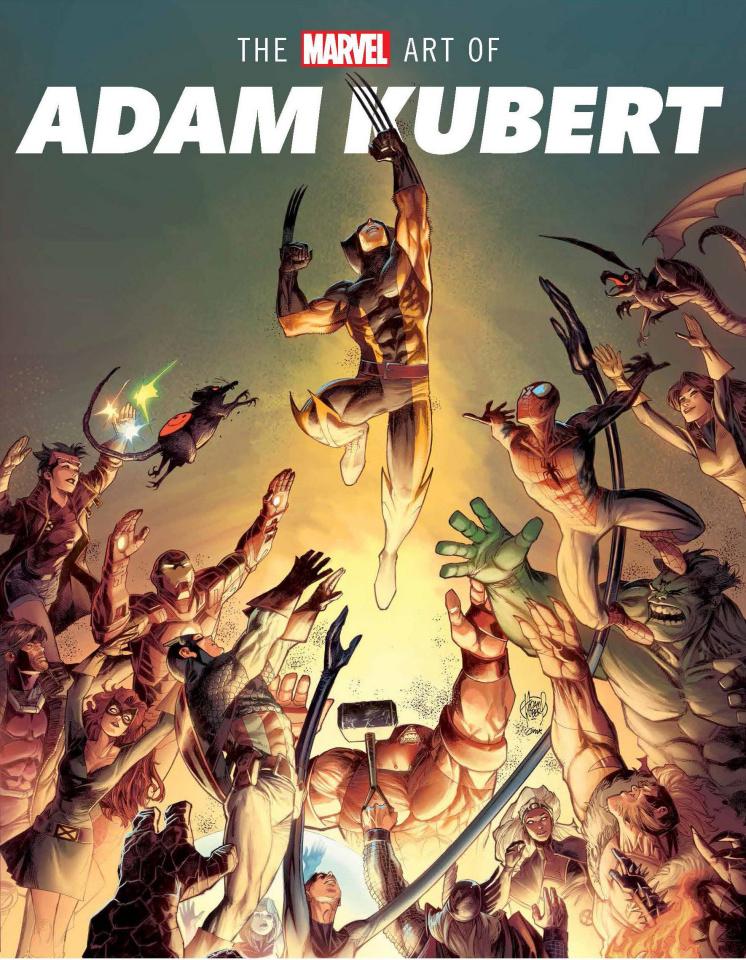 The Marvel Art of Adam Kubert