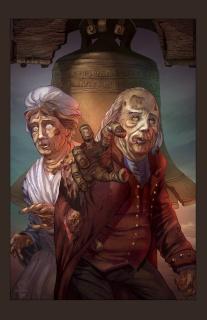 Aliens vs. Zombies #3 (Mychaels Cover)