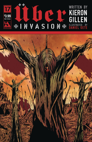 Über: Invasion #17 (War Crimes Cover)