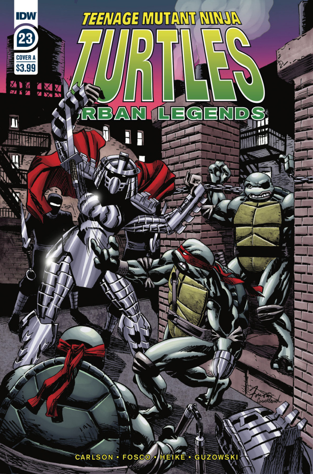 Teenage Mutant Ninja Turtles: Urban Legends #23 (Fosco Cover)