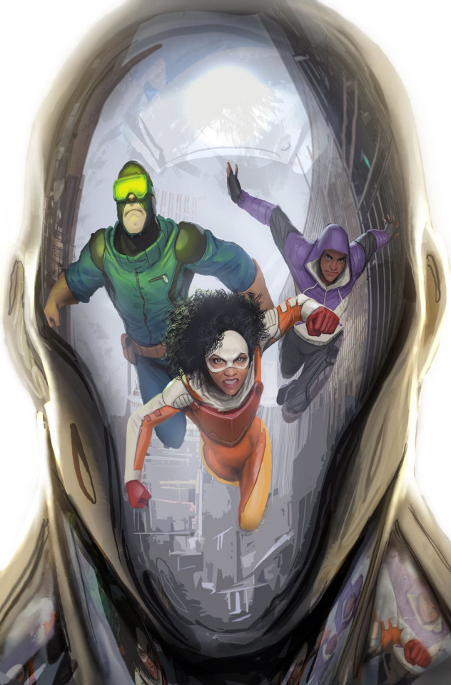 Catalyst Prime: Seven Days #2 (Sejic Cover)