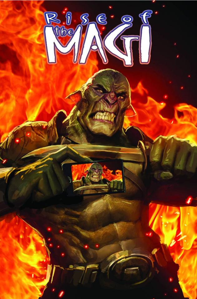 Rise of the Magi #4 (Kesgin Cover)