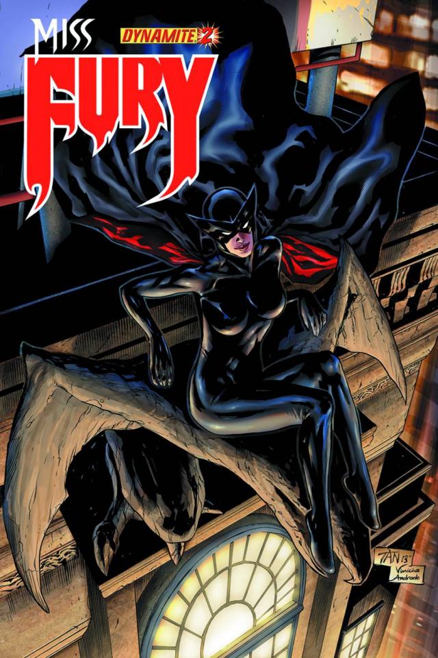 Miss Fury #2 (Tan Cover)