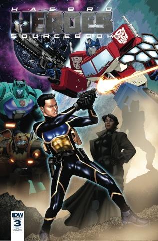 Hasbro Heroes Sourcebook #3 (10 Copy Cover)