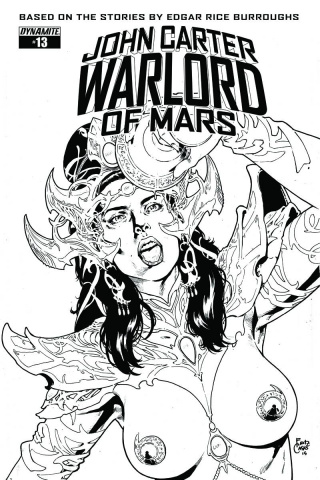 John Carter: Warlord of Mars #13 (10 Copy Casas Cover)