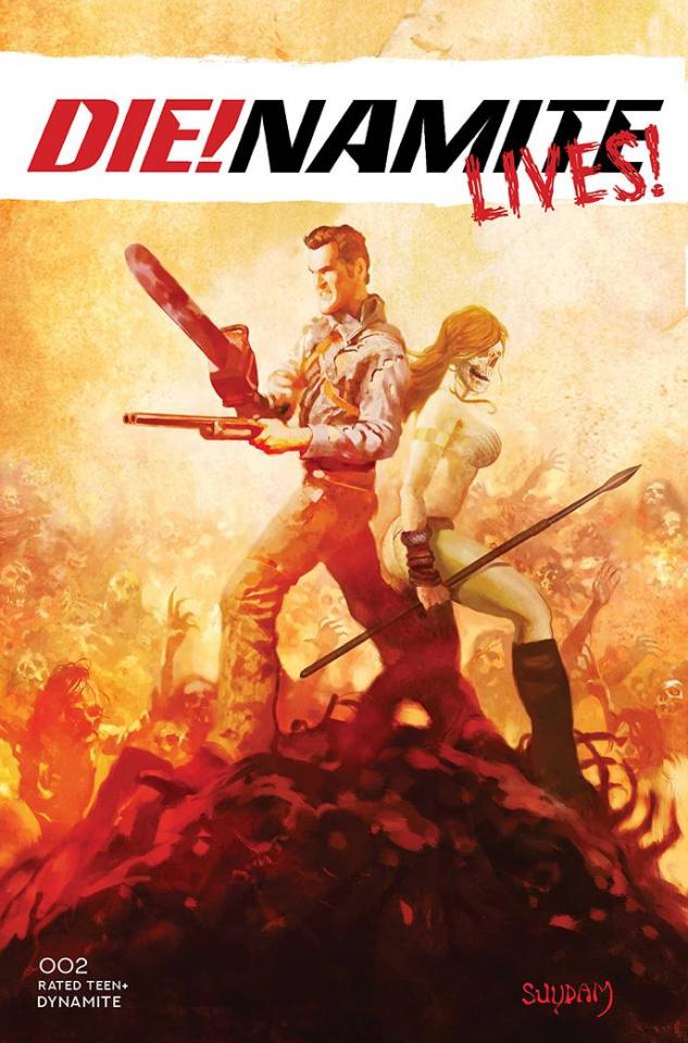 DIE!namite Lives! #2 (Suydam Cover)