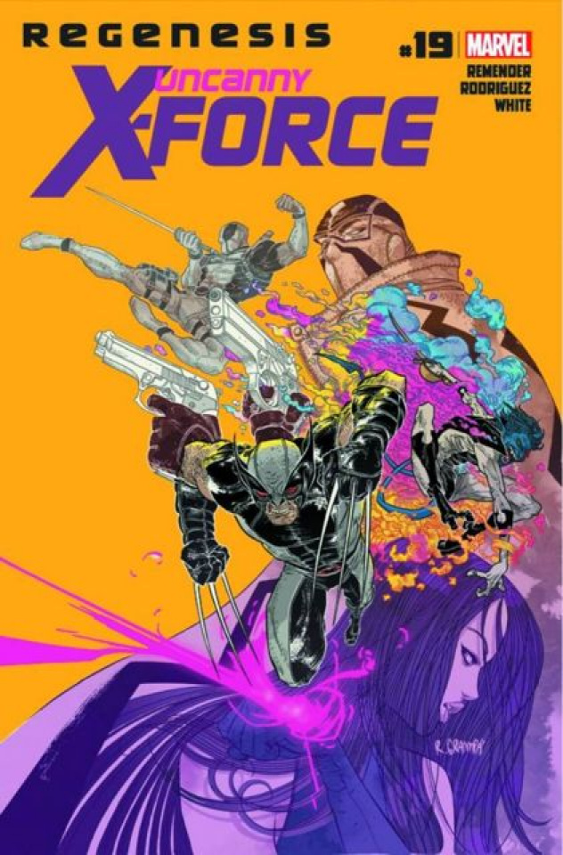 Uncanny X-Force #19 (2nd Printing)