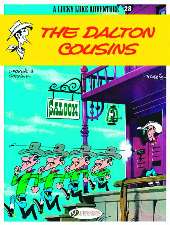 Lucky Luke Vol. 28: The Dalton Cousins