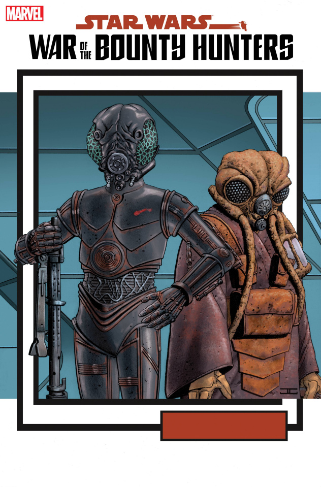 Star Wars: War of the Bounty Hunters #5 (Trading Card Cover)