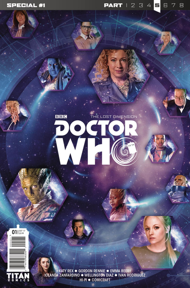 Doctor Who: The Lost Dimension #1 (Photo Cover)