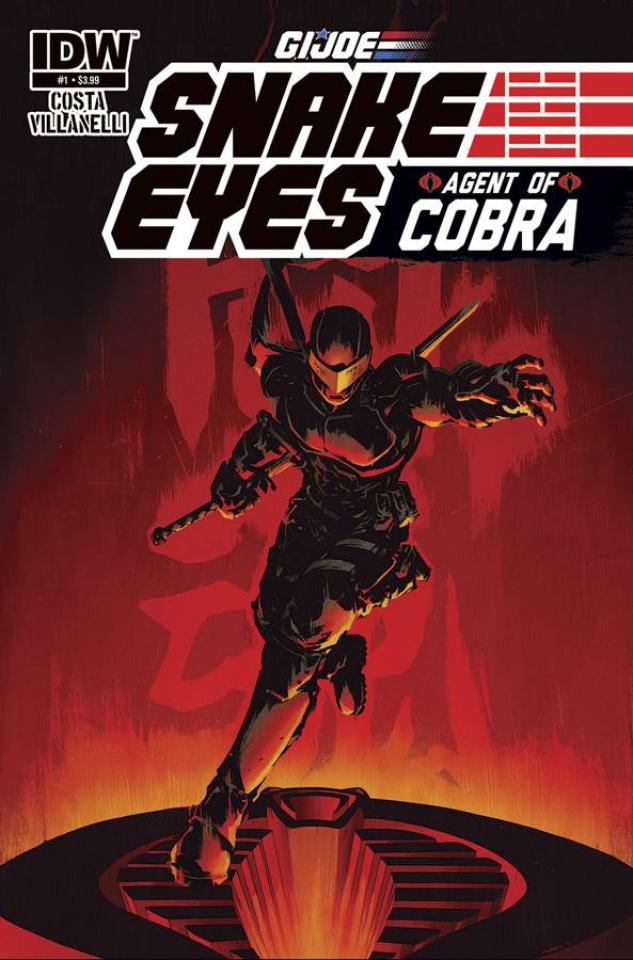 G.I. Joe: Snake Eyes - Agent of Cobra #1