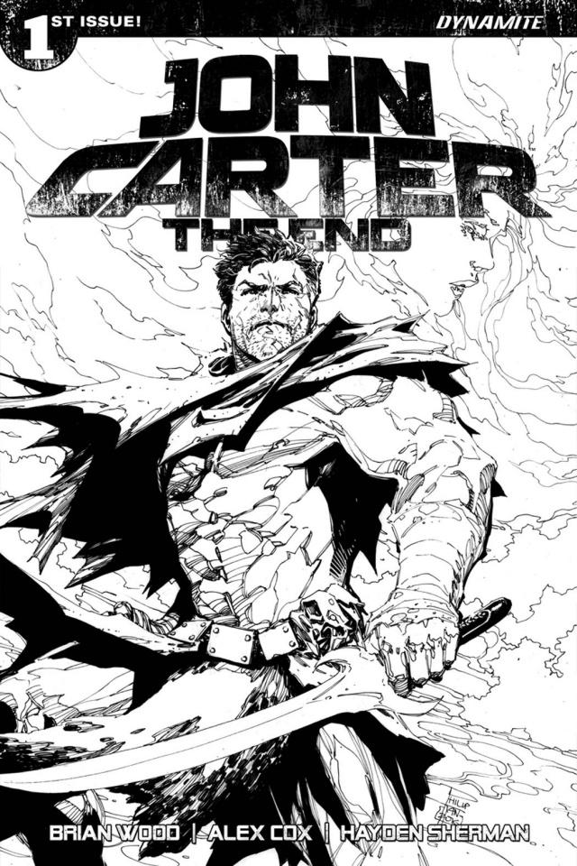 John Carter: The End #1 (50 Copy Tan B&W Cover)