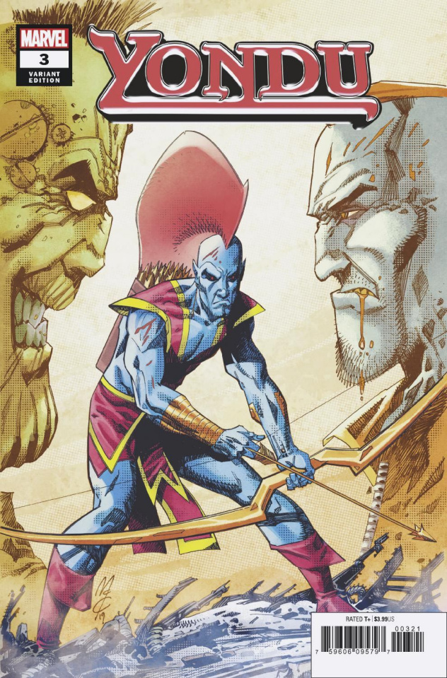 Yondu #3 (McCrea Cover)