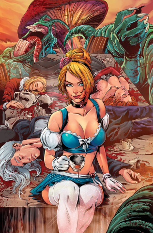 Cinderella: Serial Killer Princess #3 (Otero Cover)