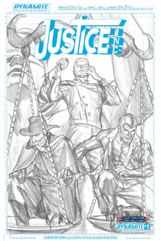 Justice, Inc. #1 (Baltimore Ross Artboard Cover)