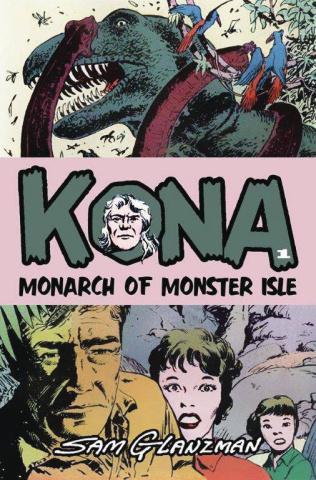 Kona #1 (Sam Glanzman Cover)