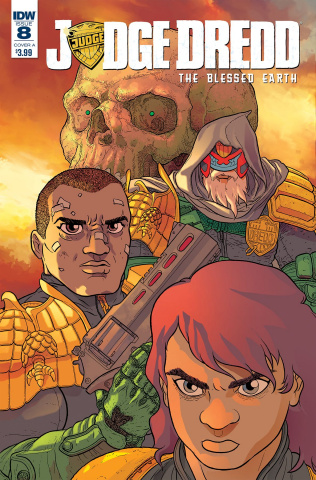 Judge Dredd: The Blessed Earth #8 (Farinas Cover)