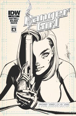 Danger Girl: Renegade #2 (10 Copy Cover)