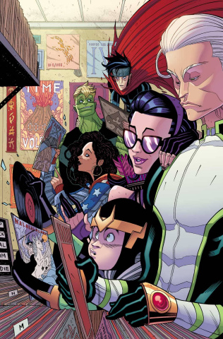 Young Avengers #3 (Moore Cover)