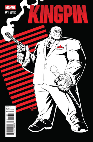 Kingpin #1 (Torres Cover)