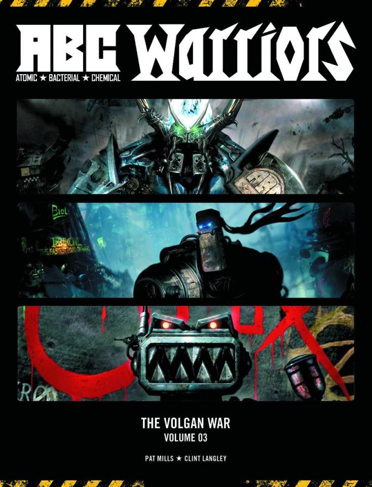 A.B.C. Warriors: The Volgan War Vol. 3