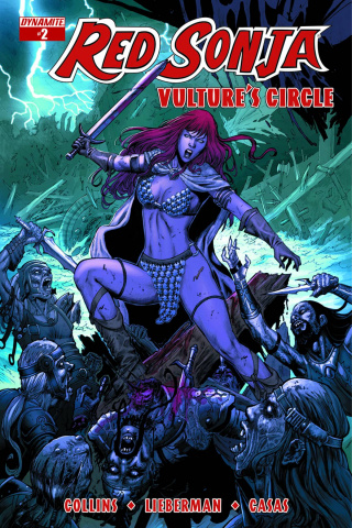 Red Sonja: Vulture's Circle #2 (Geovani Cover)