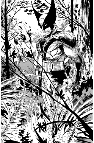 Return of Wolverine #1 (McFarlane Remastered B&W Cover)