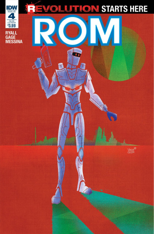 ROM #4 (Subscription Cover)