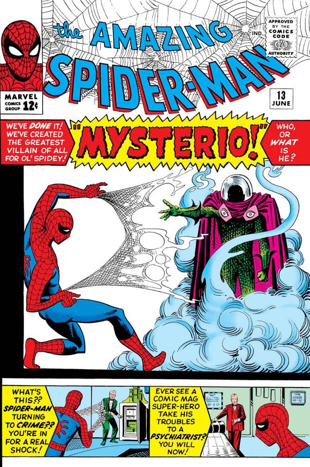 Spider-Man vs. Mysterio #1 (True Believers)