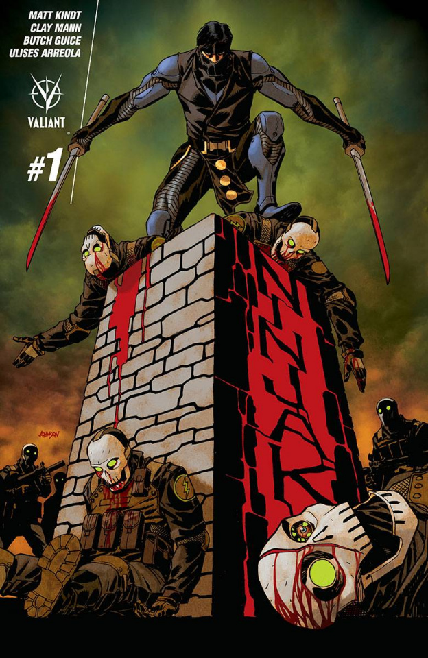 Ninjak #1 (Johnson Cover)