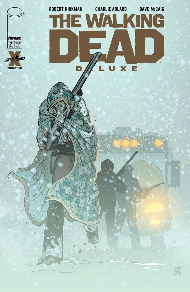 The Walking Dead Deluxe #7 (Moore & McCaig Cover)